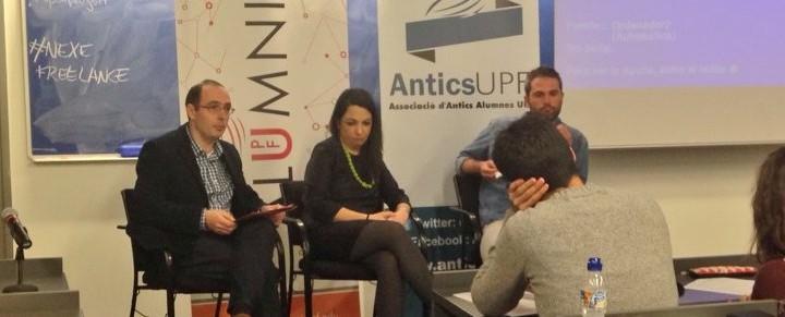 Taula rodona: Experiències del periodisme freelance (Video)